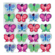Bright Color Butterflies Repeats 50-20710