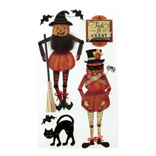 Moveable Jack-O-Lanterns 50-50613