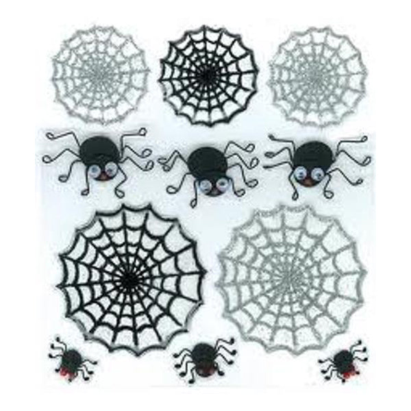 Cute Spiders and Webs 50-20498