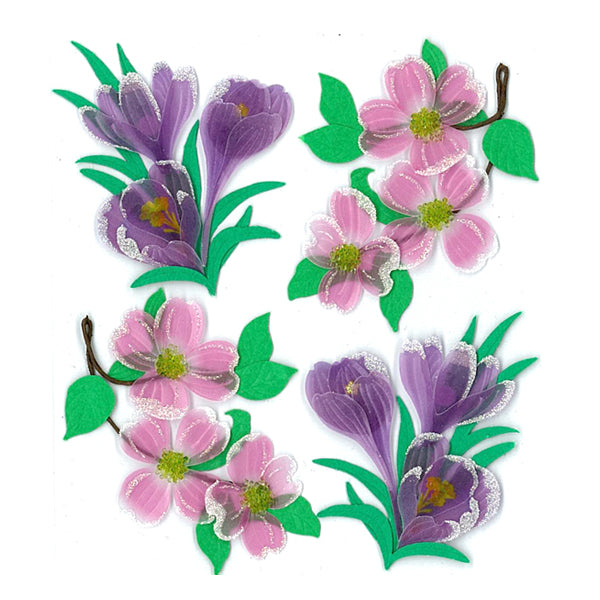 Dogwood and Crocus Flowers 50-20525
