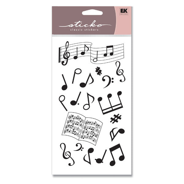 Silhouette Musical Notes S-SP00SLTT20