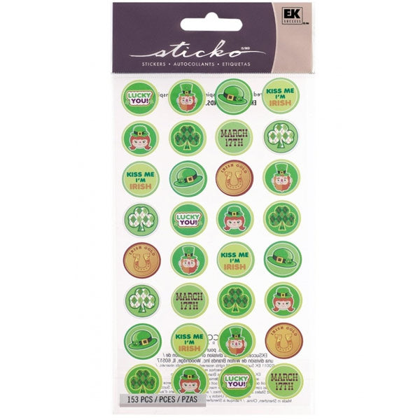 St Pats Kiss Seals S-52-00179