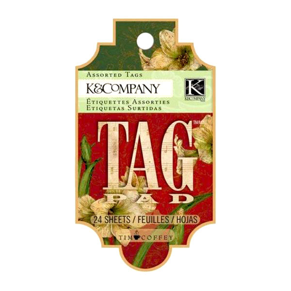 Tim Coffey Christmas Tag Pad KCO-30-666535