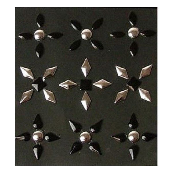 Black and Silver Studs 50-20778