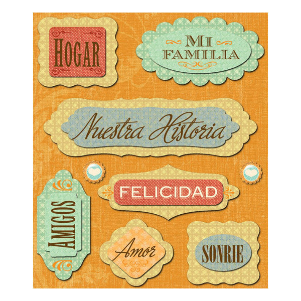 Spanish Language Sticker Medley KCO-30-586123