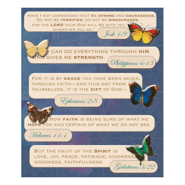 Bible Quotes Sticker Medley KCO-586888