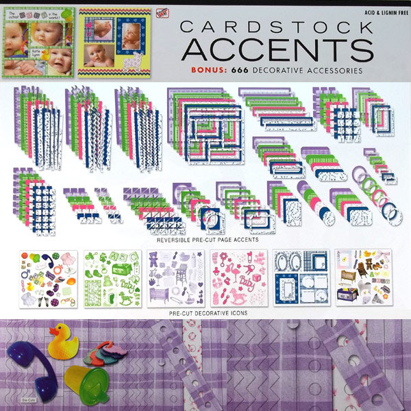 Baby Cardstock Accents WT-28261