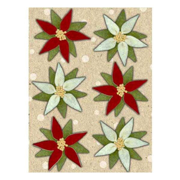 Christmas Cheer Poinsettia Felt KCO-569287