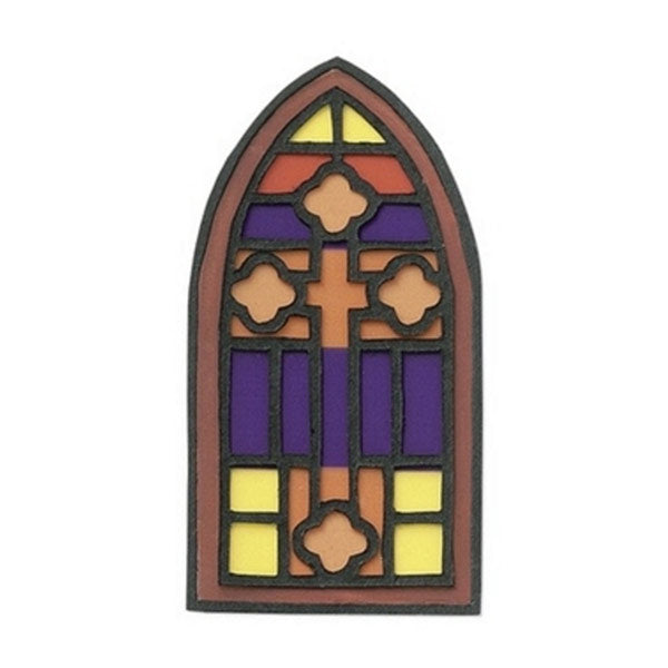 Stained Glass Window JJCG014B