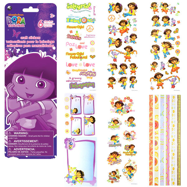 Dora the Explorer Sticker Pack SC5110