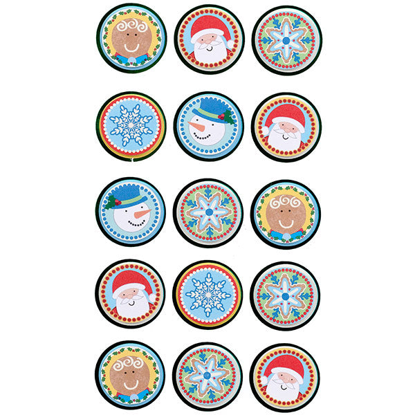 Holiday Seals S-52-31022