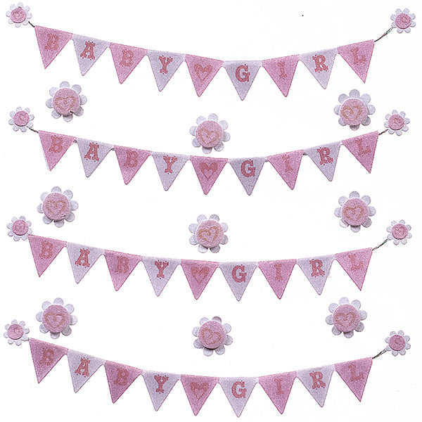 Baby Girl Banner Repeat 50-21656