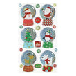 Whimsical Christmas Snowglobe S-52-203281
