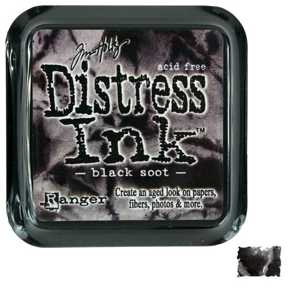 Black Soot Distress Ink TH-TIM19541