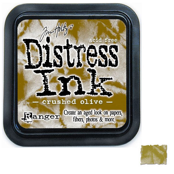 Crushed Olive Distress Ink TH-TIM27126