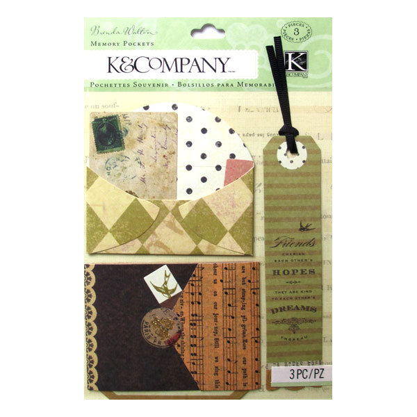 Brenda Walton Maison Diamonds Memory Pockets KCO-562042