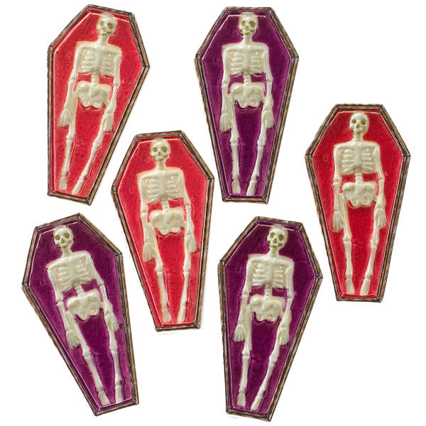 Mini Skeleton Coffins 50-00594
