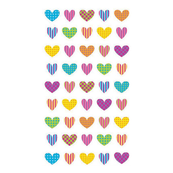 Colorful Heart Repeats S-52-00810
