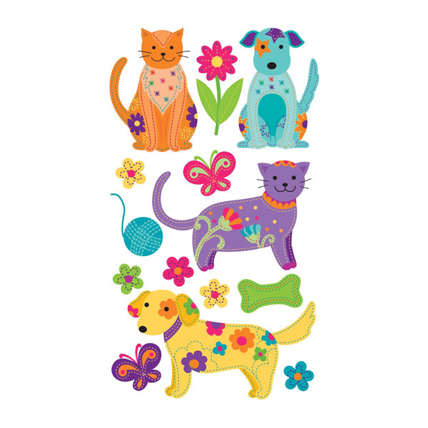Colorful Dogs and Cats 50-50585
