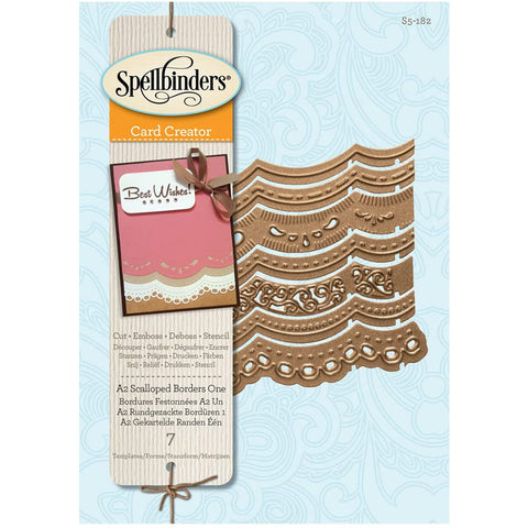 A2 Scalloped Borders One SB-S5-182