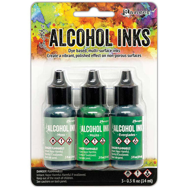 Alcohol Ink Set Mint Green Spectrum TH-TAK69652