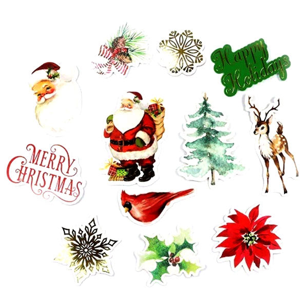 Christmas Chipboard Variety R-603192