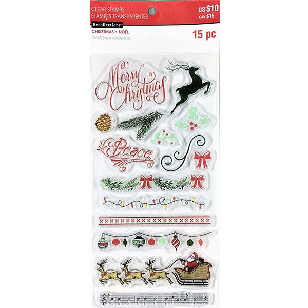 Christmas Icons Words and Borders R-605741