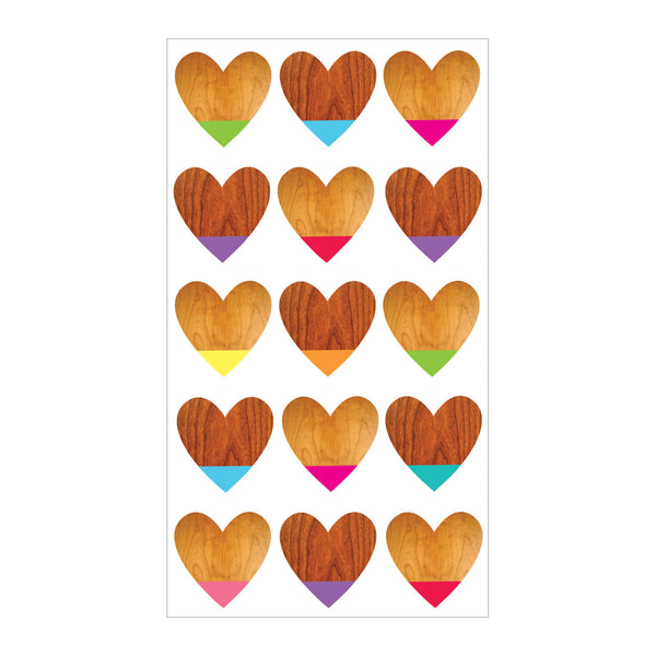 Color Dipped Hearts S-52-00257