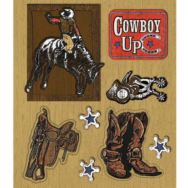 Cowboys Sticker Medley KCO-30-587298