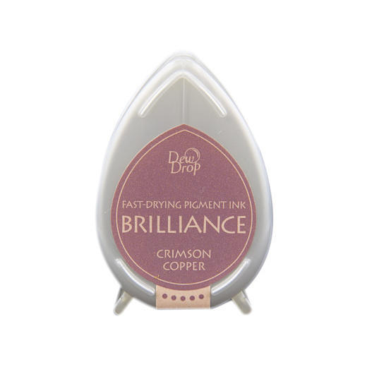 Crimson Copper Brilliance Dew Drop Ink Pad BD-97