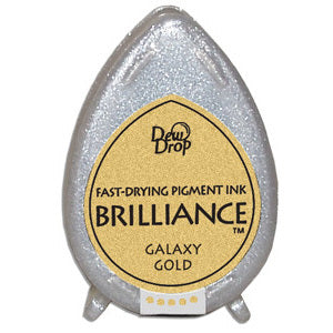 Galaxy Gold Brilliance Dew Drop Ink Pad BD-91