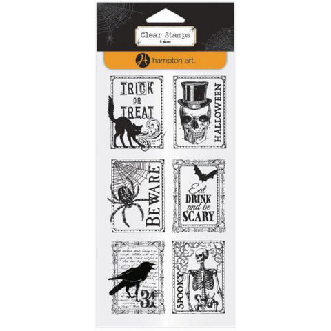 Halloween Stamps HA-SC0732