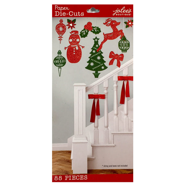 Holiday Paper Die-Cut Pack 50-30332