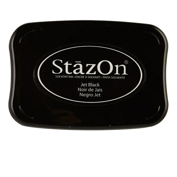 Jet Black StazOn Solvent Ink SZ-31