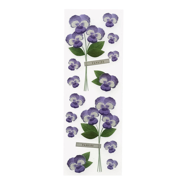Pansies Millinery Flowers MS-41-00478