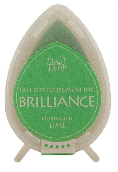 Pearlescent Lime Brilliance Dew Drop Ink Pad BD-42
