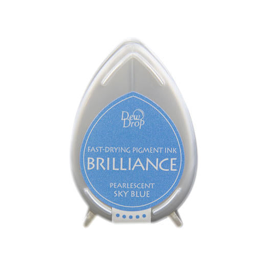 Pearlescent Sky Blue Brilliance Dew Drop Ink Pad BD-38
