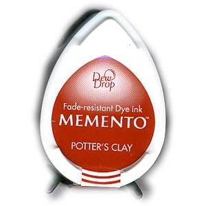 Potter's Clay Memento Dew Drop Ink Pad MD-801