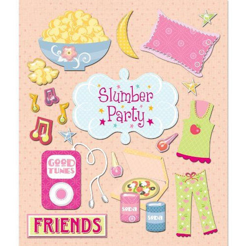 Slumber Party Sticker Medley KCO-30-588301