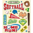 Softball Sticker Medley KCO-30-587243