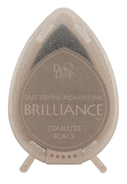 Starlite Black Brilliance Dew Drop Ink Pad BD-90