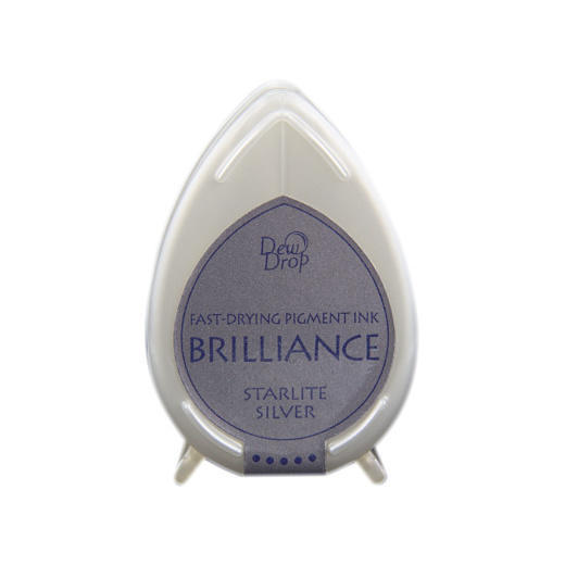 Starlite Silver Brilliance Dew Drop Ink Pad BD-93