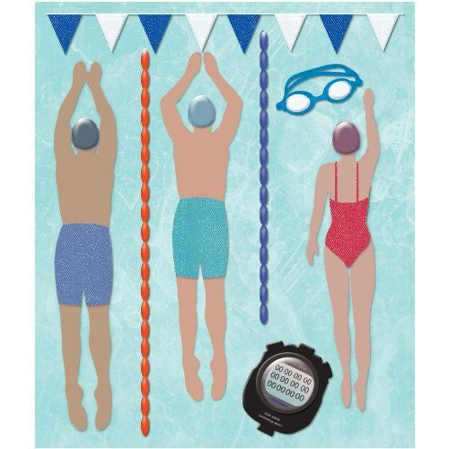 Swimming Sticker Medley KCO-30-587182