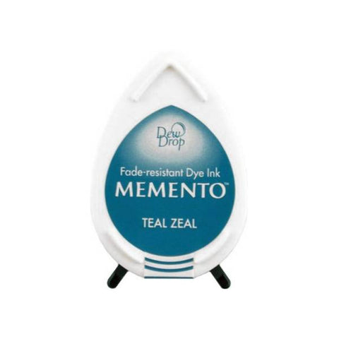 Teal Zeal Memento Dew Drop Ink Pad MD-602