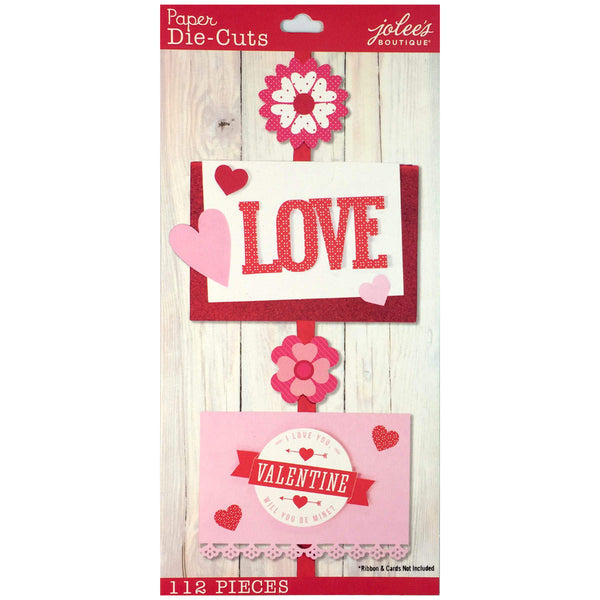 Valentine Die Cut Pack 50-30353