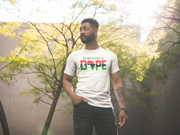BEING BLACK IS DOPE TEE