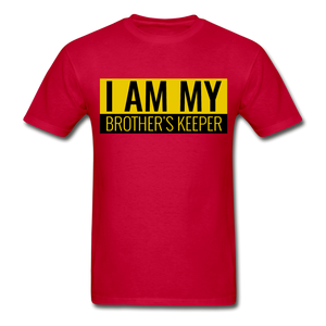MY BROTHER'S KEEPER - red