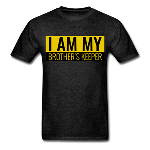 MY BROTHER'S KEEPER - charcoal gray