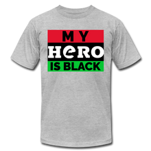 Load image into Gallery viewer, MY HERO IS BLACK - heather gray