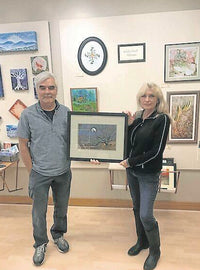 Local artist paints 'family tree' By Ashley Spinks, The Floyd Press - Oct 12, 2020